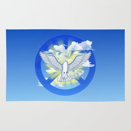 Dove Of Peace Rug