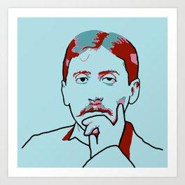 Marcel Proust Art Print