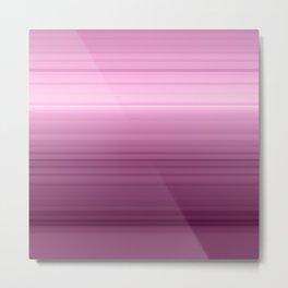 Rainbow love pink Metal Print