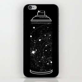 Space Can iPhone Skin