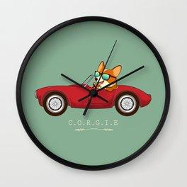 C.O.R.G.I.E Wall Clock