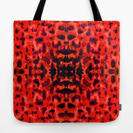 Red Petals Tote Bag