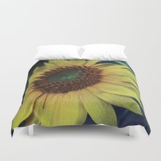 Sunflower for a dream Duvet Cover