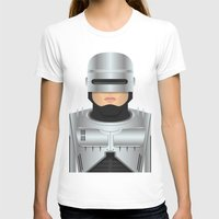 robocop T-shirts featuring Robocop by Capitoni