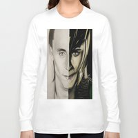 tom hiddleston Long Sleeve T-shirts featuring Tom Hiddleston by Goolpia