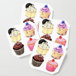 Cupcake selection Coaster