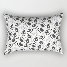 penguin print Rectangular Pillow
