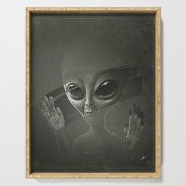 Alien Serving Tray