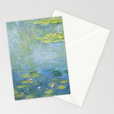 Water Lilies 1906 by Claude Monet Stationery Cards