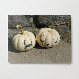 Hush Little Pumpkins Metal Print