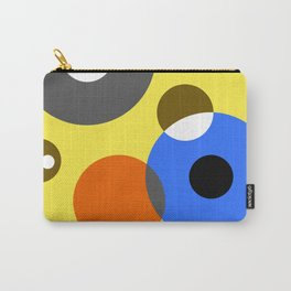 Blue Circle Carry-All Pouch