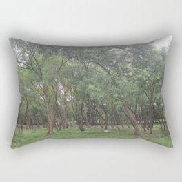 SPRING. TREES. STONE Rectangular Pillow