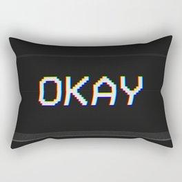 Okay Rectangular Pillow
