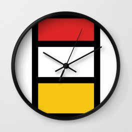 African colorful prints of geometry2 Wall Clock