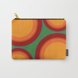 Sunspots in my eyes - Green Carry-All Pouch