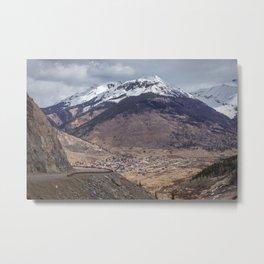 Valley Below Metal Print