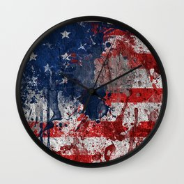 map USA  Wall Clock