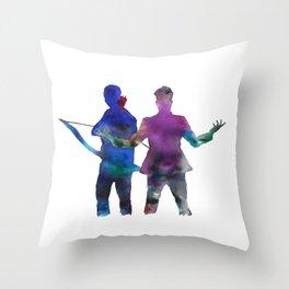 Malec Throw Pillow