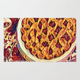 Coffee & Cherry Pie, Food For Thought Rug