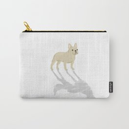 Wild At Heart - Cream French Bulldog Carry-All Pouch