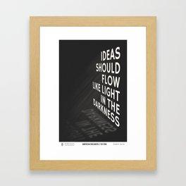 American Dreamers // Ed Finn Framed Art Print