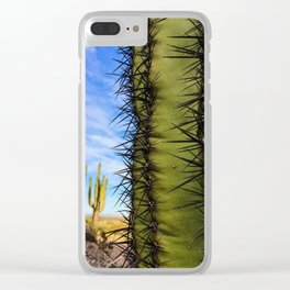 Saguaro Cactus, Arizona Clear iPhone Case