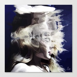 Drown your sorrows Canvas Print