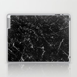 Black Marble Laptop & iPad Skin
