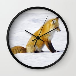 Waiting for my next snack Wall Clock