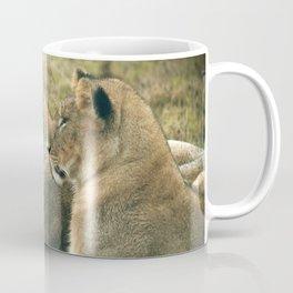 Lion Cub Twins Coffee Mug