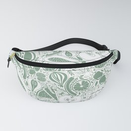 Eat more greens Fanny Pack