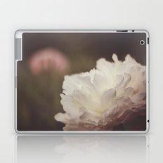 White and Pink Peonies Laptop & iPad Skin