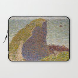 Study for Le Bec du Hoc, Grandcamp Laptop Sleeve