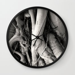 Root Of The Root Wall Clock