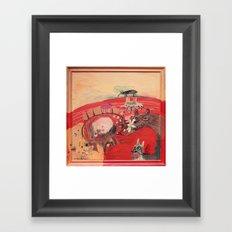 Inside Me Framed Art Print