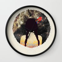 stargate Wall Clocks featuring STARGATE by Nika