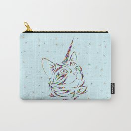 Behold the Wondrous Unicat! Carry-All Pouch