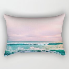 beach sunset photo Rectangular Pillow