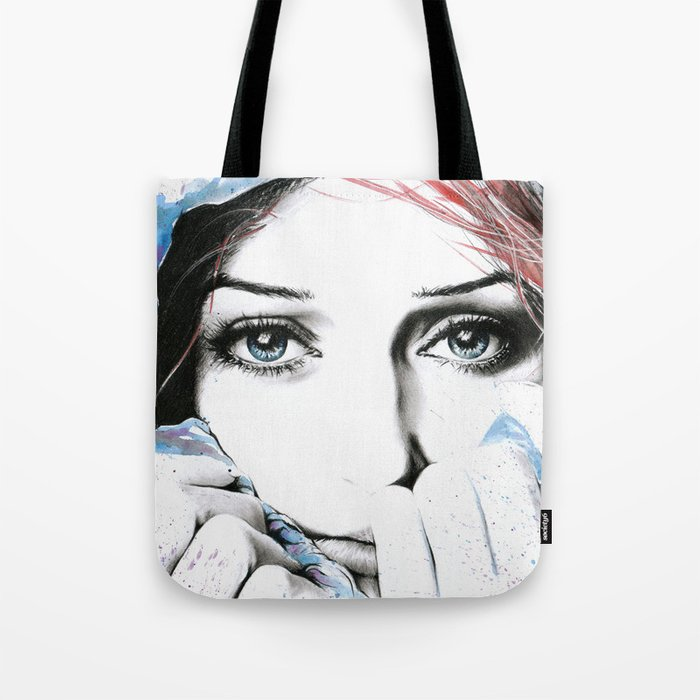 See What Feelings I Hide Tote Bag