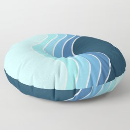 Retro Waves Floor Pillow