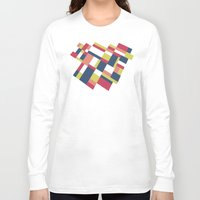 matisse Long Sleeve T-shirts featuring Map Matisse Stretched by Project M