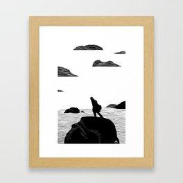Amos Framed Art Print