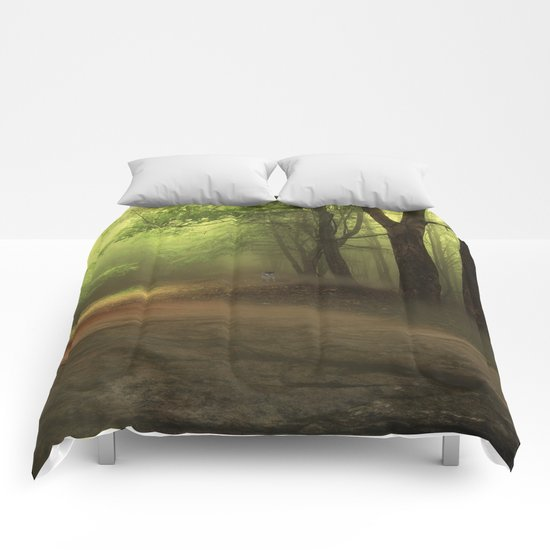 Mystical Forest (3) Comforters
