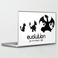 evolution Laptop & iPad Skins featuring evolution by Ainy A.