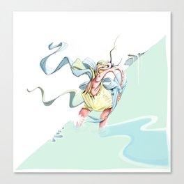 Fisherman Canvas Print