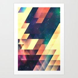 thyss lyyts Art Print