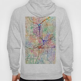 Atlanta Georgia City Map Hoody