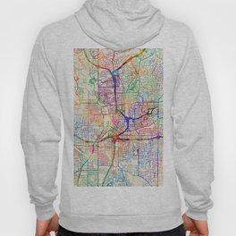 Atlanta Georgia City Map Hoody