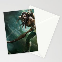 Woad Ashe League of Legends Stationery Cards