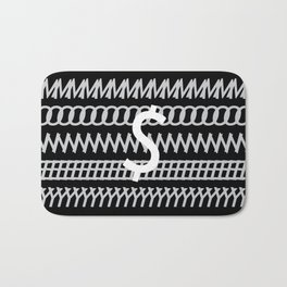All about Money Typography Design Bath Mat